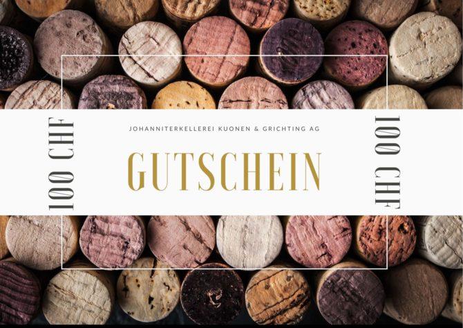 Gutschein – CHF 100.-