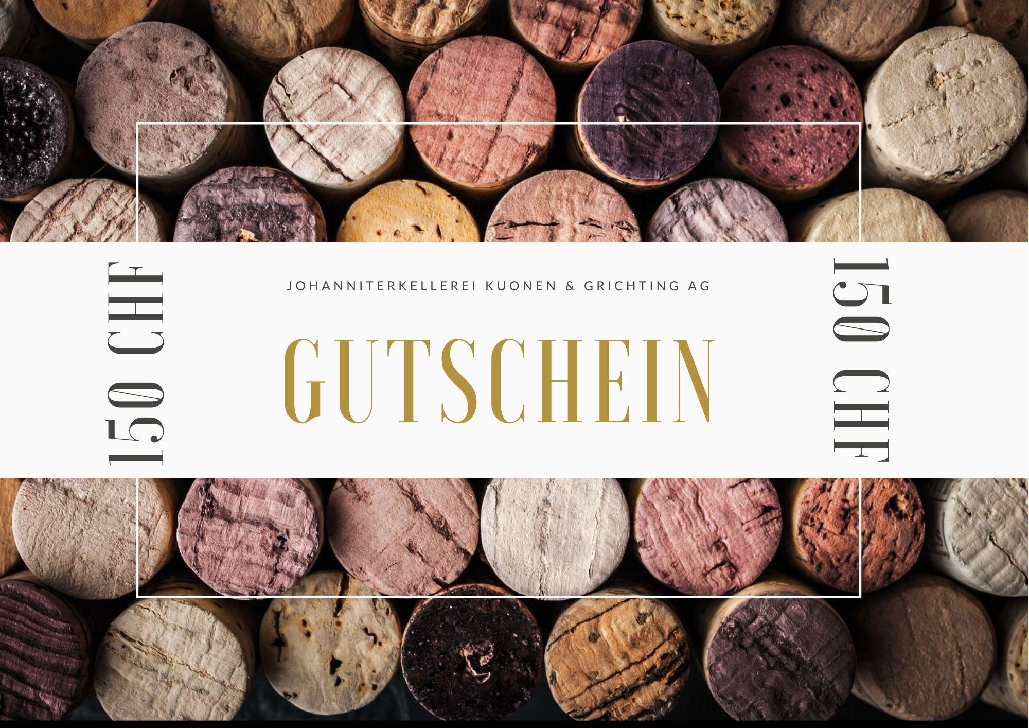 Gutschein – 150.-