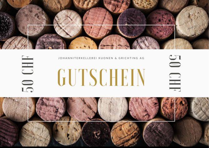 Gutschein – CHF 50.-