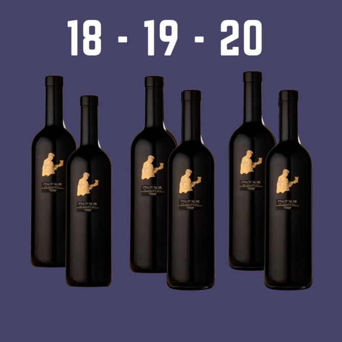 Jahrgangs-Set Pinot Noir Salgesch 18-19-20